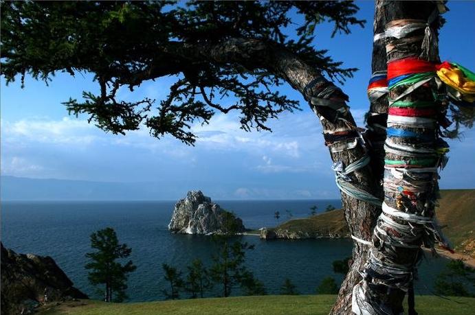 Байкал, мыс Бурхан гора Шаманка