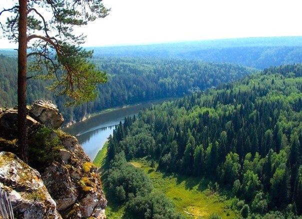 Гора Зверобой и Беловский водопад. Новосибирская область