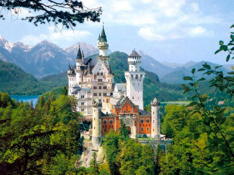 Королевские замки Австрии и Германии + Санкт-Петербург